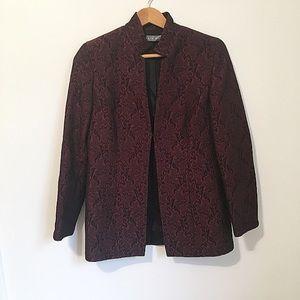 Kate Hill  tapestry wool midi blazer